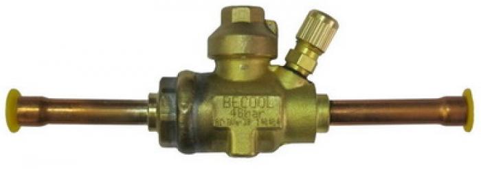 Шаровый запорный вентиль с сервисным штуцером Becool BC-BVа-38