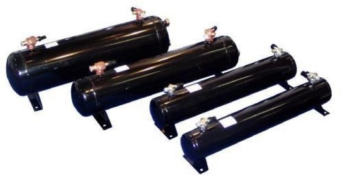 Горизонтальные ресиверы Becool серии BC-LR