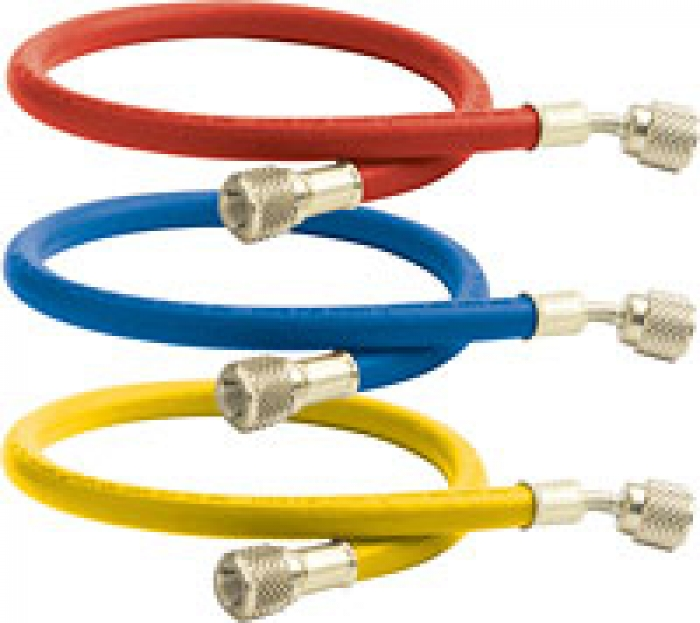 Стандартные зарядные шланги для всех хладагентов, цветные
